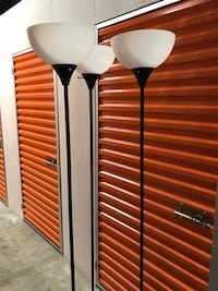 2 floor lamps available