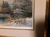 "Stunning  Art By The Very Talented Irene Cafieri "" Wintery Landscape""  Mississauga, L5J 2E5"