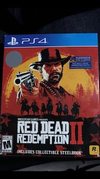 Red Dead Redemption 2 - Steelbook Edition (PS4 Sealed)  Smyrna, 30339