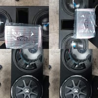 Subs and amp for sale Affordable Las Vegas