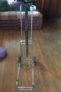 Massage table carrier