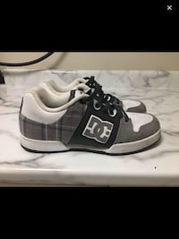 pair of black-and-white Adidas sneakers Saanich, V8Y 1X8
