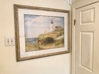 """Light house picture 32"""" by 38"""""""