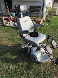Hoverround battery powered wheelchair new batteries and charger  Linthicum Heights, 21090