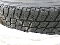 Four (4) good condition winter tires Ajax