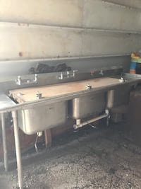 stainless steel sink with faucet San Antonio, 78201
