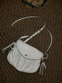 Juicy couture white crossbody bag