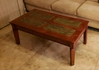 rectangular brown wooden coffee table Scottsdale, 85258