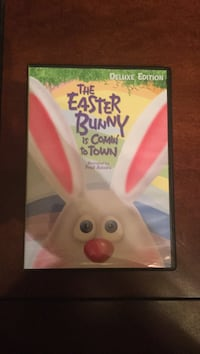 The easter bunny is comin to town dvd