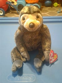 63a23629655 Used ty beanie baby slowpoke the sloth for sale in Gloucester County ...