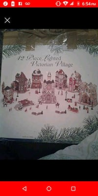 42 piece lighted Victorian village Alexandria, 22304