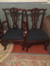 Set of 4 ball and claw chippendale dining chairs Brampton, L6V 2S9