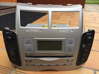 Toyota Yaris original CD radio Staffanstorp, 245 44