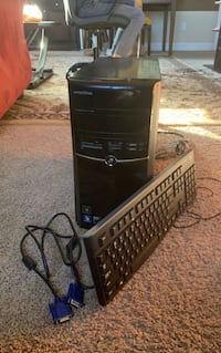 Emachines old fashioned gaming pc with nvidea graphics card negotiable Orlando, 32832