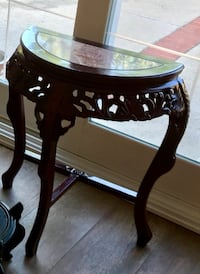 Asian accent table Costa Mesa