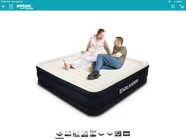 Brand New King Size Inflatable Air Mattress