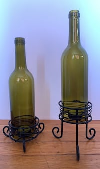 Bottle candle holders set of two Randallstown, 21133