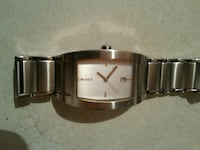 square silver-colored DKNY analog watch with link bracelet Winnipeg, R2W 2C4