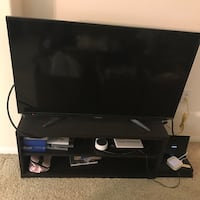 "Sharp Smart TV 40"" with TV Stand"