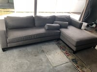 Sofa couch two part sectional decent shape need it gone  Orlando, 32819