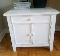 Solid wood bedside table Toronto, M4S 1C8