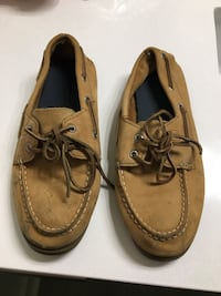 pair of brown boat shoes Rockville, 20850