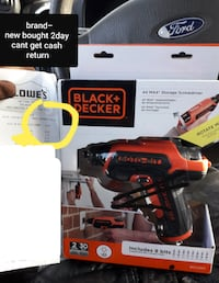 Brandnew Black Decker Drill