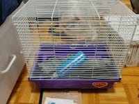 Hamster cage with extras  546 km