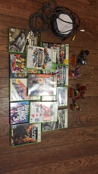 Assorted xbox 360 game cases Sudbury, P3A 2N2