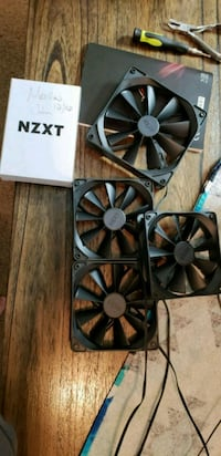 New never used NZXT Aer F Fans 360 mi