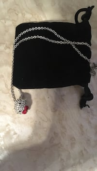 Swarovski Hello Kitty Necklace  Brampton, L7A 2R6