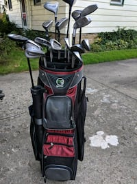 black and red golf bag Youngstown, 44512