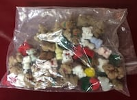 49 Mini Craft Teddy Bears, Bunnies, Moose, Reindeer, and More For Sale Burlington