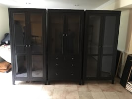 Display Cabinets (3) new