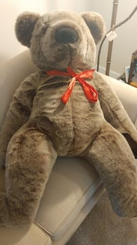 brown and gray bear plush toy GERMANTOWN