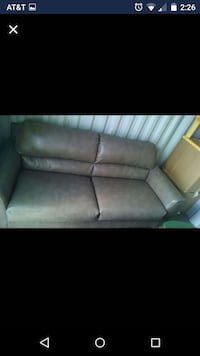 Used Brown Suede Chaise Couch For Sale In Fort Walton