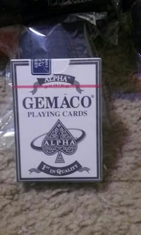 Alpha Gemaco Playing Cards box