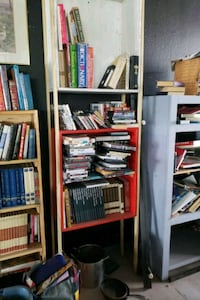 Free book and shelves