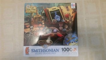 Ceaco Smithsonian Hope Diamond puzzle. No disk