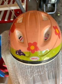 Bike helmet for girl