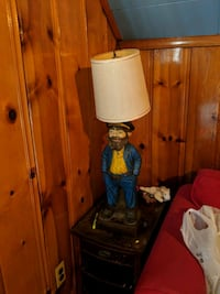 Vintage Captain Lamp Middle River