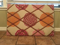 white, pink, and orange floral ribbon board Fort Worth, 76109