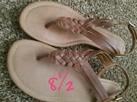 pair of brown leather sandals Fresno, 93728