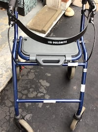 blue and gray rollator walker Oakville