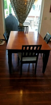 rectangular brown wooden table with six chairs dining set Spokane, 99224