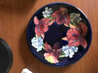 Collectors item! Moorcroft decorative plate Laval, H7K 2E2