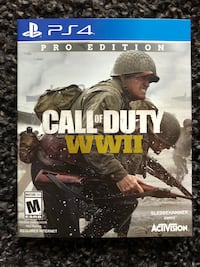 Call of Duty WW2 Steel Book Ver. PS4 Toronto, M3A 0A4
