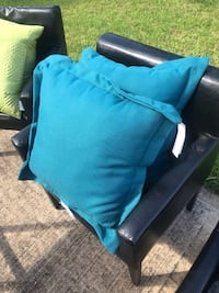 BRAND NEW Sonoma outdoor teal pillows Houston, 77054