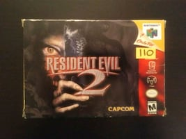 Resident Evil 2 for N64 with manual & box