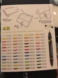 Prismacolor 48 count dbl ended markers Union City, 94587